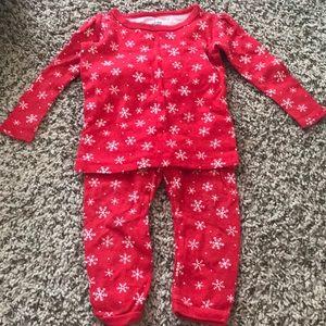 12m pajamas set